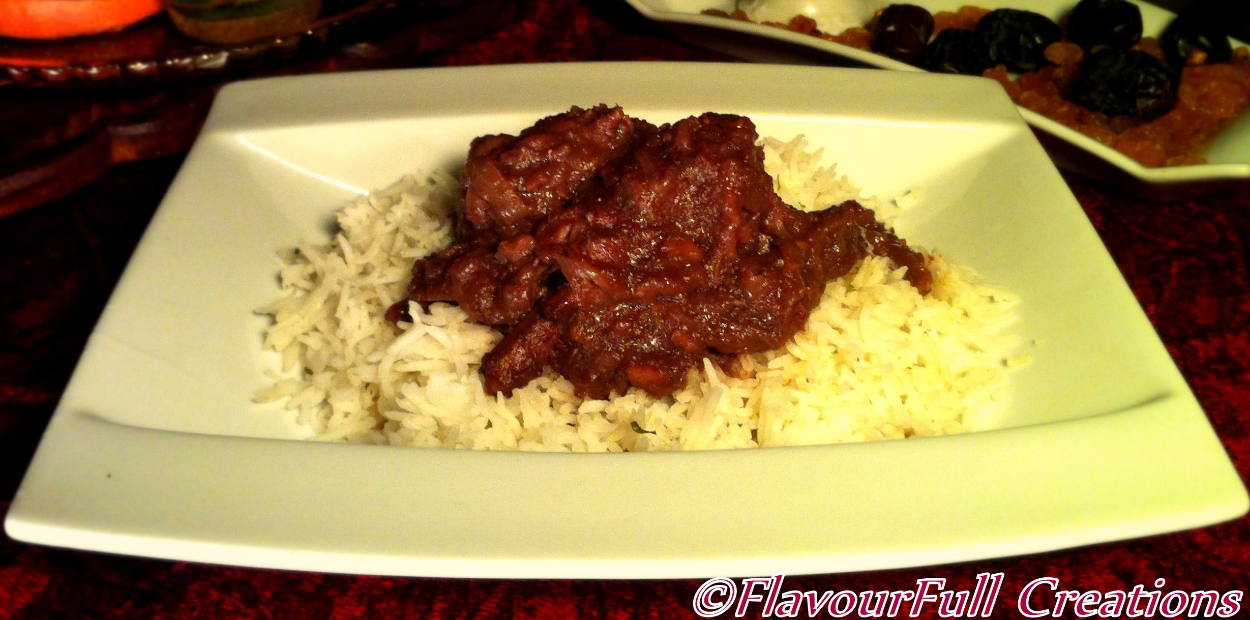 Pomegranate Stew With Chicken (Khoresh Fesenjan) Recipes — Dishmaps